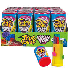 TRIPLE POWER PUSH POP 16 X 34g