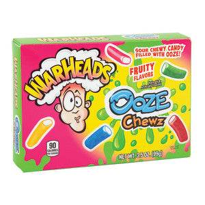 Theatre Box Warheads Ooze Chewz 99g x 12 units