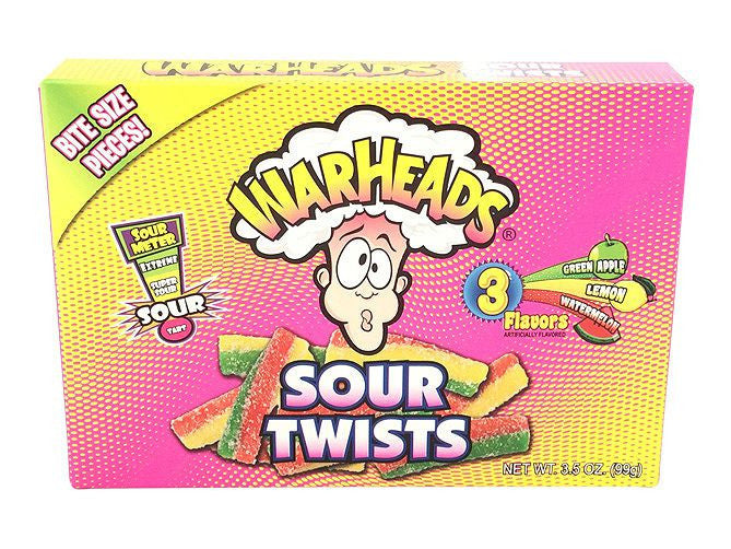 Theatre Box Warheads Sour Twists - Remas