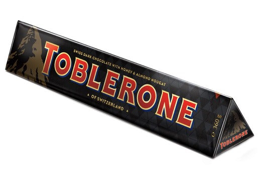 Toblerone Dark Chocolate 360g X 10 Units