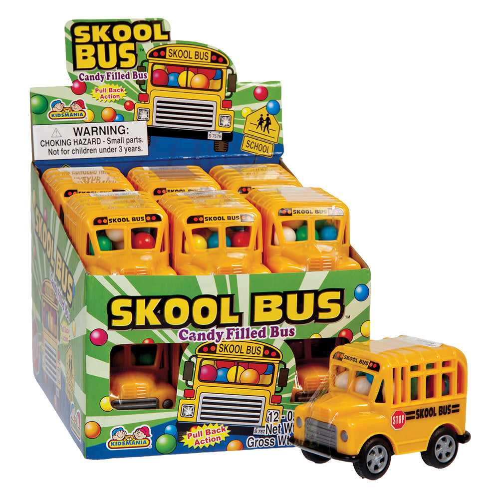 Toy Skool Bus 15g X 12 Units