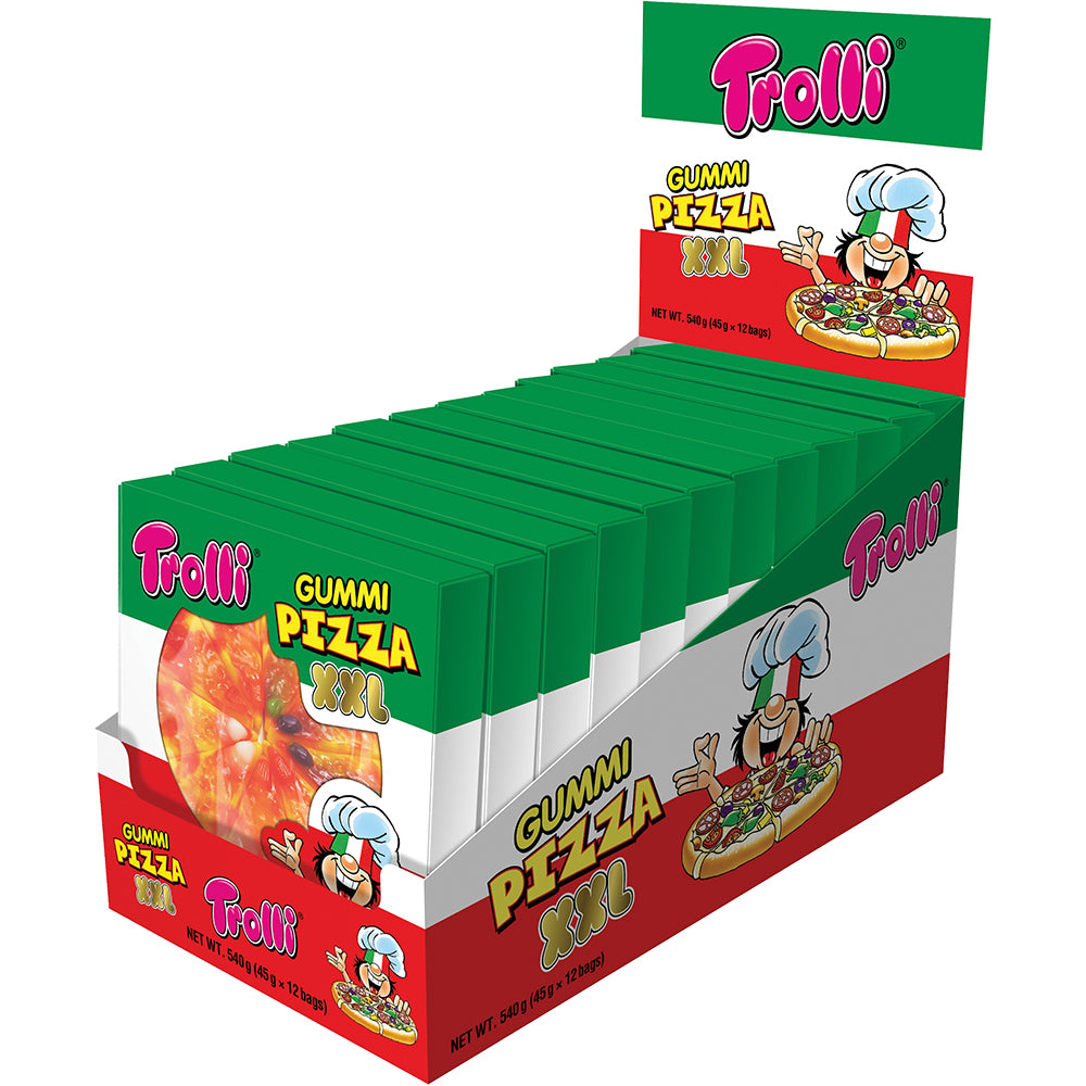 Trolli Pizza XXL 45g X 12 Units