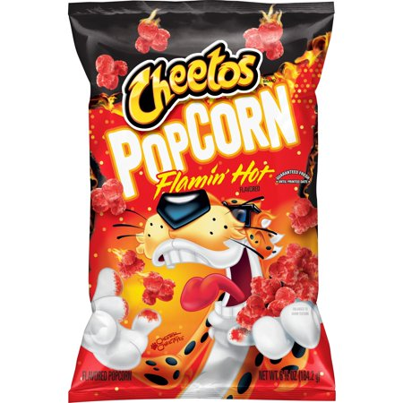 US CHIPS Cheetos Popcorn Flamin Hot 184g X 12 Bags