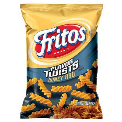 US CHIPS Fritos Honey BBQ Twists 283g X 10 Bags Cheetos