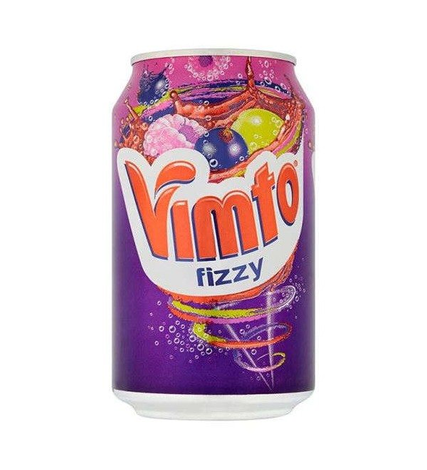 UK Vimto Fizzy 330ml X 24 Cans