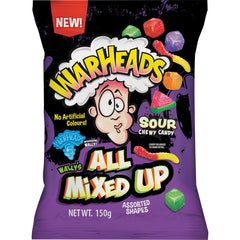 Warheads All Mixed Up 150g X 12 Units