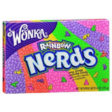 Theatre Box Wonka Rainbow Nerds 141.7g X 12 Units - Remas