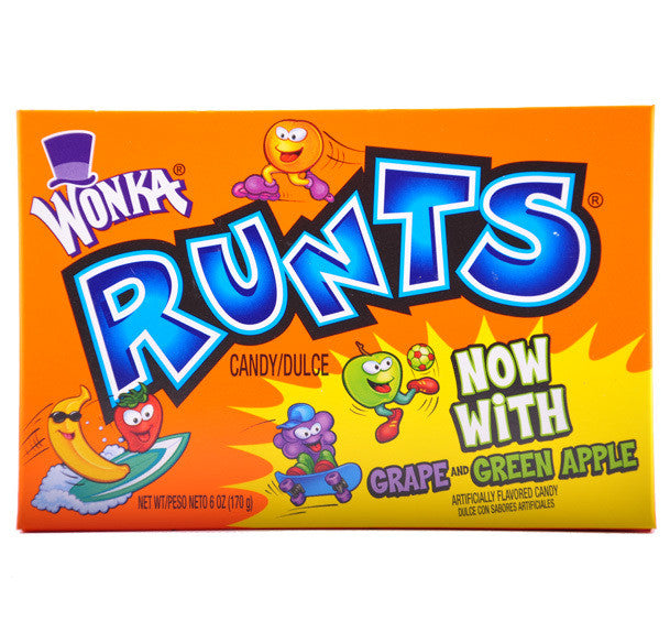 Theatre Box Wonka Runts 141.7g X 12 Units