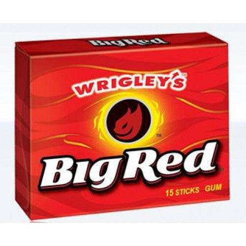 U.S Gum Wrigleys Big Red 10 X 15 Sticks