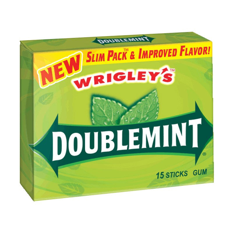 U.S Gum Wrigleys Double Mint 10 X 15 Sticks
