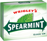 U.S Gum Wrigleys Spearmint 10 X 15 Sticks - Remas