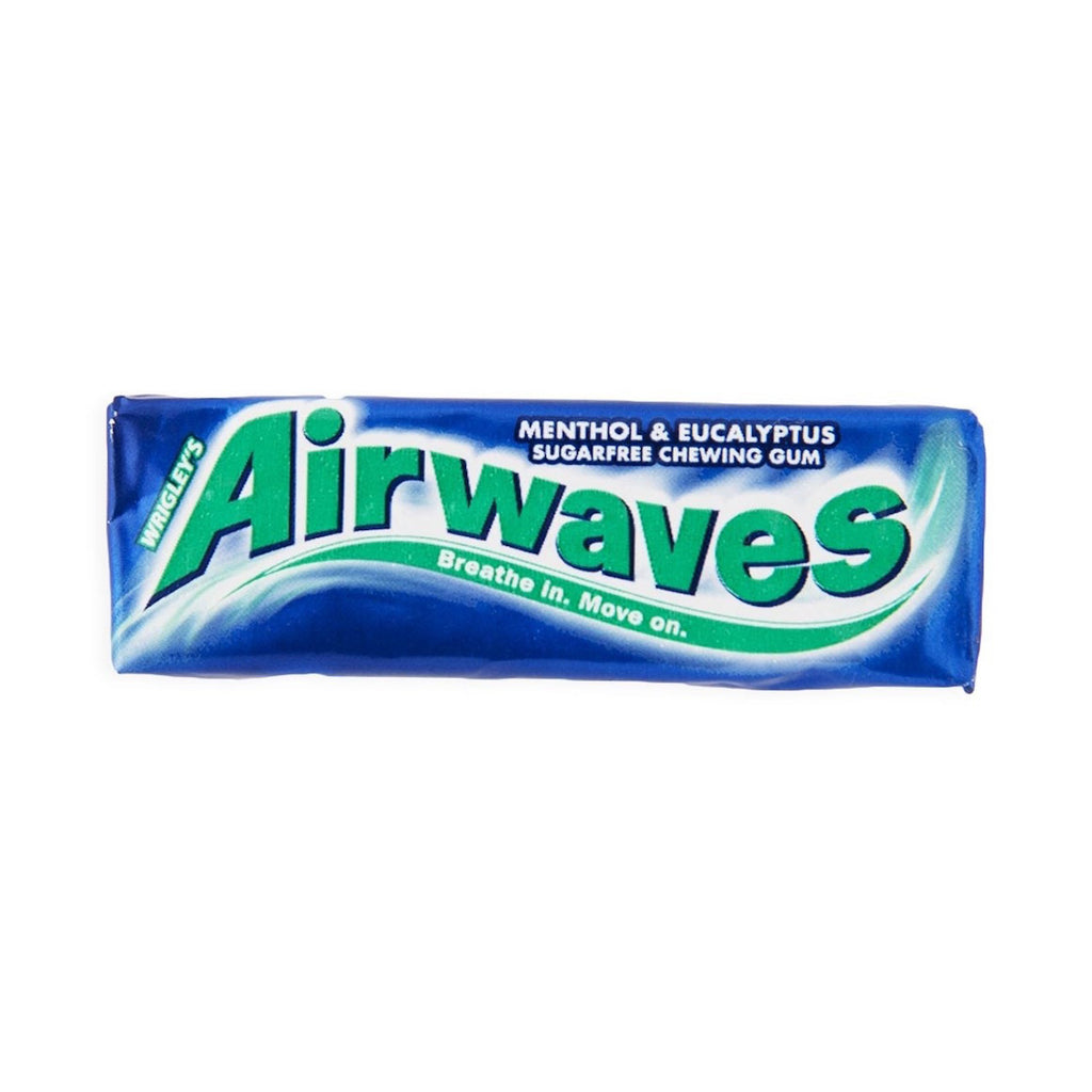 Airwaves Menthol & Eucalyptus Gum 14g X 30 Units