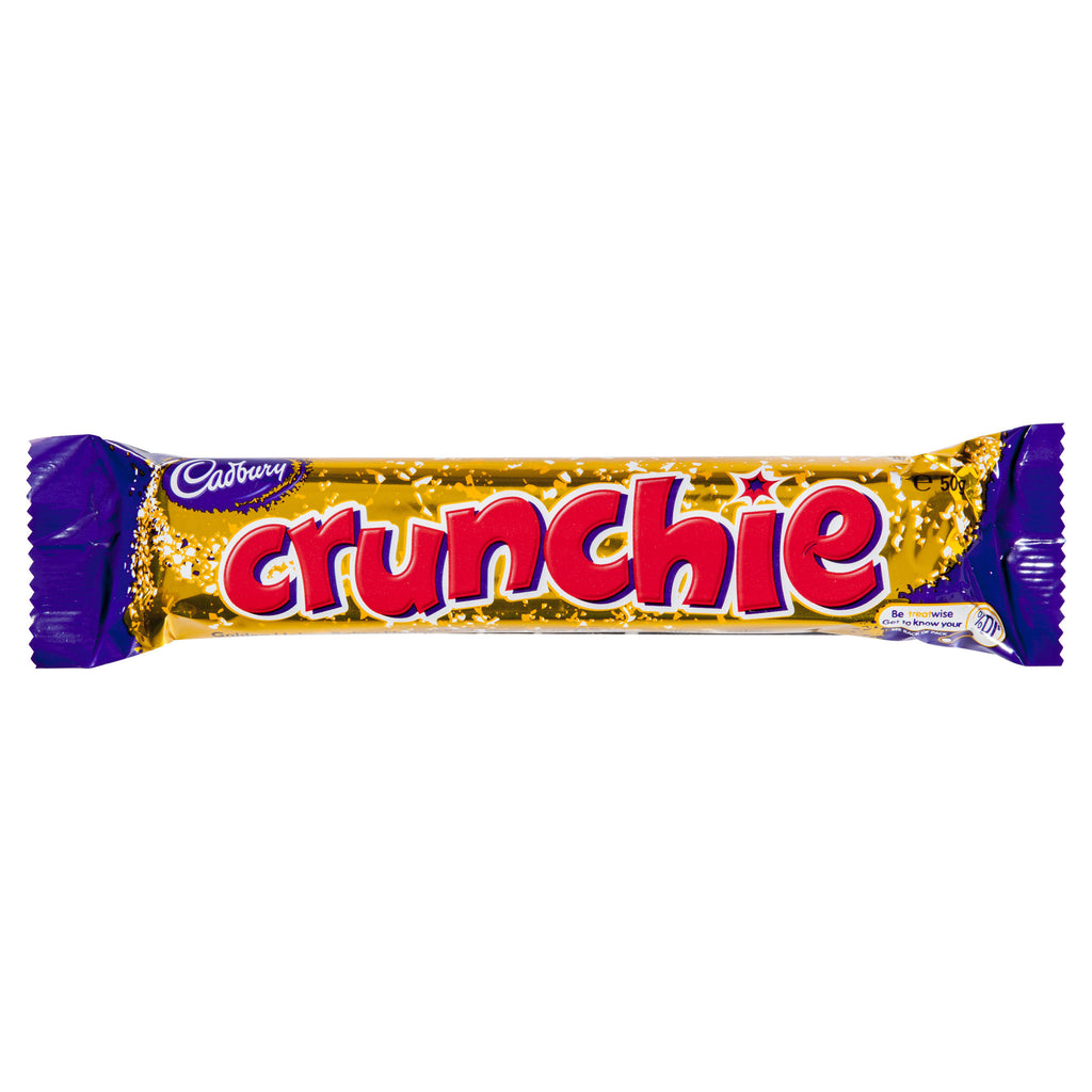 Cadbury Crunchie 50g X 42 Bars