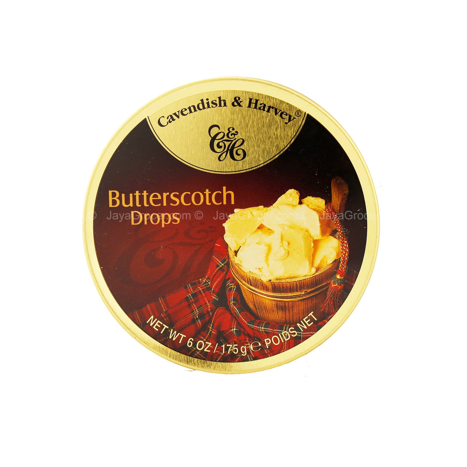 Cavendish Harvey BUTTERSCOTCH 200g x 10 unit - Remas