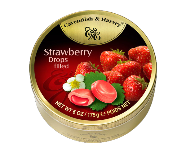 Cavendish Harvey Strawberry 200g x 10 unit
