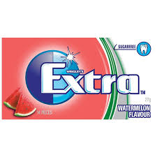 Extra Watermelon Gum 27g X 24 Units