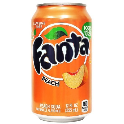 FANTA PEACH 355 ml x 12 cans