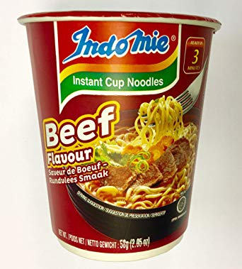 Indomie Instant noodle Beef cups (Free GST)