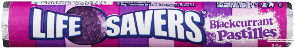 Life Savers Blackcurrant 34g X 24 Units