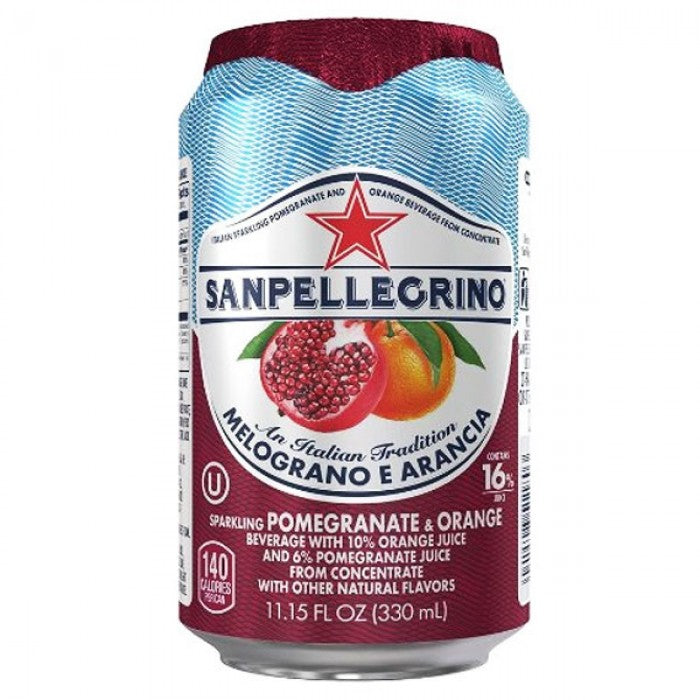 Sanpellegrino Melograno Can 330ml X 24 Cans