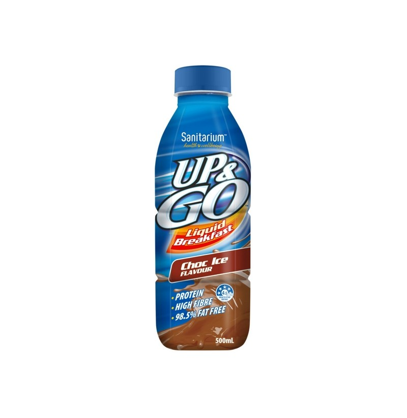 Up & Go Chocolate 500ml X 12 Bottles