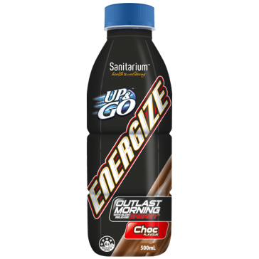Up & Go Energize Chocolate 500ml X 12 Bottles