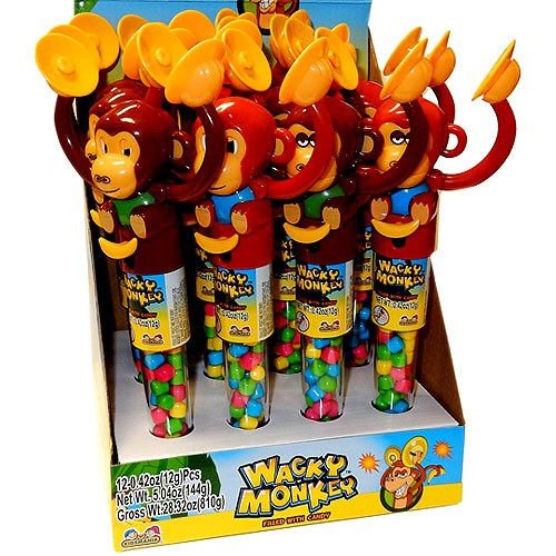 Toy Wacky Monkey Candy 12g X 12 Units