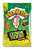 Warhead Extreme Sour Bags 56g x 12 Bags - Remas