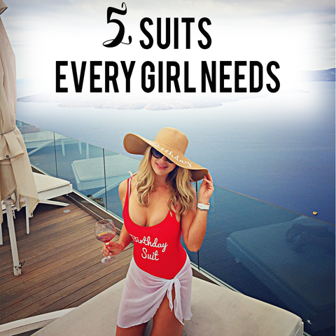 5 Swimsuits Every Girl Needs