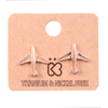 Airplane Stud Earrings
