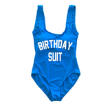 Birthday Suit One Piece Swimsuit