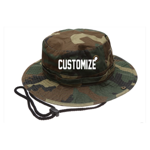 Custom Camo Unisex Bucket Hat