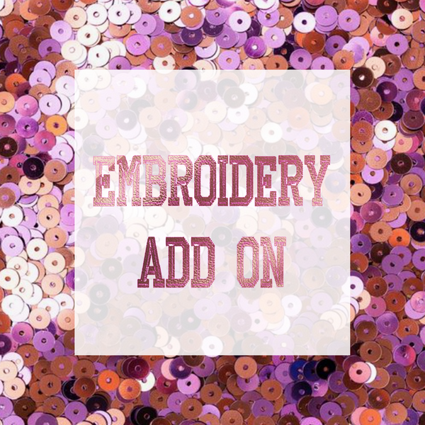 Embroidery Add-On