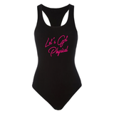Women's Let's Get Physical 80's Workout Bodysuit Costume