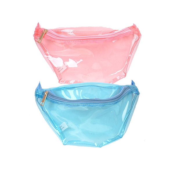 Custom Clear Multicolor Fanny Pack