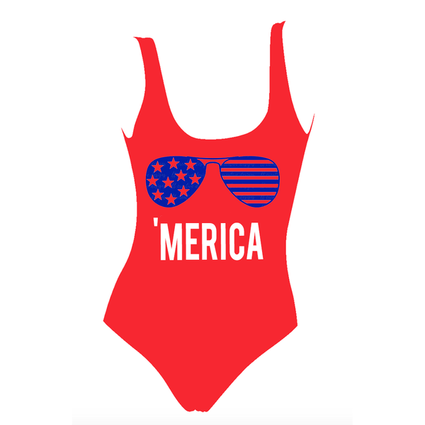 Merica One Piece Swimsuit