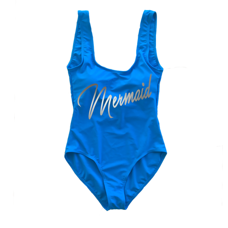 Mermaid of Honor Red Swimsuit