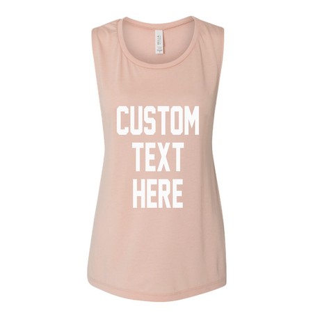 Bride Squad Rose Gold Muscle Tank Top