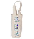 Pop Fizz Clink Canvas Natural Wine Tote