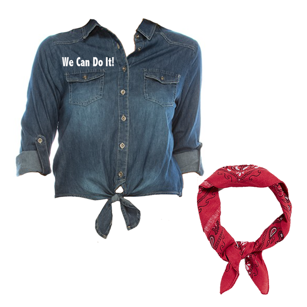 Women's Rosie the Riveter Costume