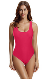 Custom Text One Piece Swimsuit for Tall or Plus Size