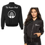 Higher Path Black Bomber Jackets