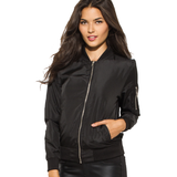 Best Friends Black Bomber Jacket