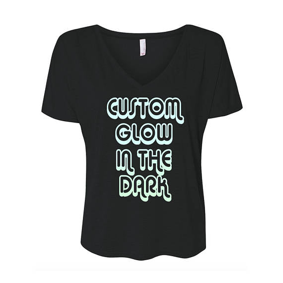 Glow In The Dark Flowy T-Shirt