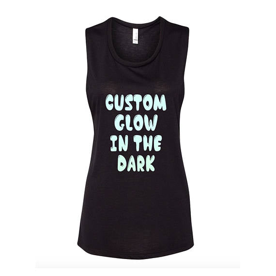Glow In The Dark Flowy Tank Top
