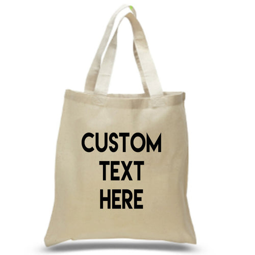 Custom Canvas Beach Tote