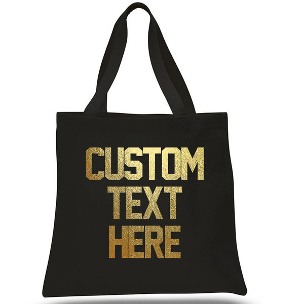 CUSTOM Canvas Tote Beach Bag
