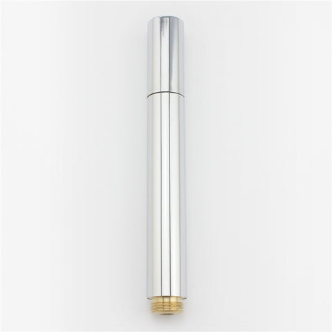 Vantory VH06 Bathroom Rainfall Brass Handheld Shower Head, Brushed Stainless Steel - VANTORY - THE REAL TASTE OF BATHING