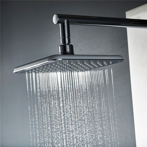 Vantory VD46 8 Inches Rainfall Polished Chrome Shower Head - VANTORY - THE REAL TASTE OF BATHING