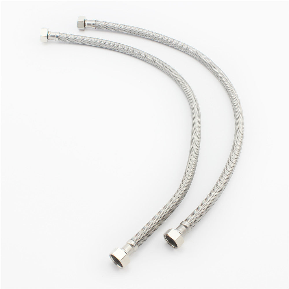 Vantory VP01 Chromed Stainless Steel Double Lock Hand Shower Hose - VANTORY - THE REAL TASTE OF BATHING